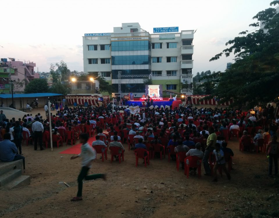 D.A.V. Public School event handled by Kaalia Events